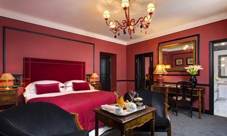 Habitación Doble Deluxe - Hotel D'Inghilterra Roma – Starhotels Collezione - Roma