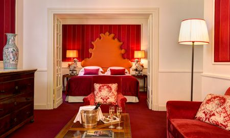 Suite Junior - Hotel D'Inghilterra Roma – Starhotels Collezione - Roma
