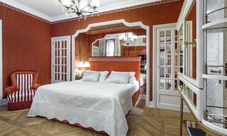 Quarto Duplo Deluxe - Helvetia & Bristol Firenze – Starhotels Collezione - Toscana