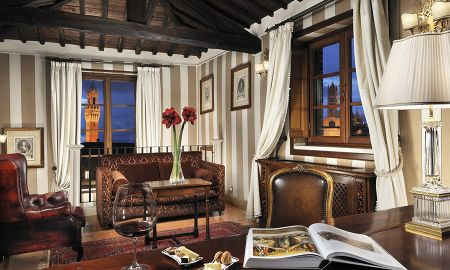 Suite - Grand Hotel Continental Siena - Starhotels Collezione - Tuscany