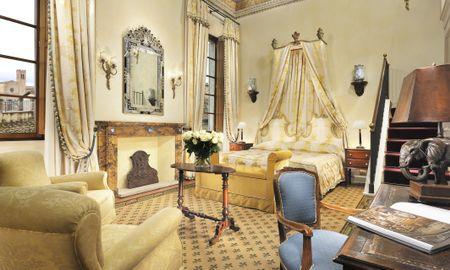 Chambre Familiale, 2 adultes + 2 enfants - Grand Hotel Continental Siena - Starhotels Collezione - Toscane