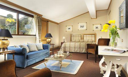 Suite Junior - Grand Hotel Continental Siena - Starhotels Collezione - Tuscany