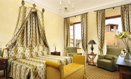 Chambre Triple - Grand Hotel Continental Siena - Starhotels Collezione - Toscane