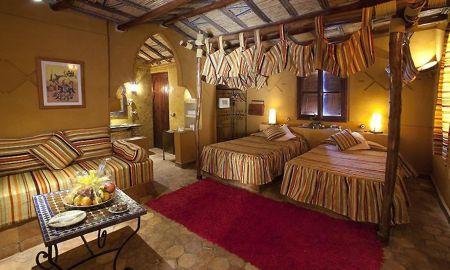 Chambre Individuelle - Kasbah Xaluca Arfoud - Grand Sud