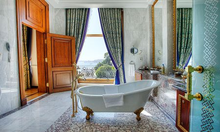 Grand Deluxe Room with Sea View - Ciragan Palace Kempinski Istanbul - Istanbul