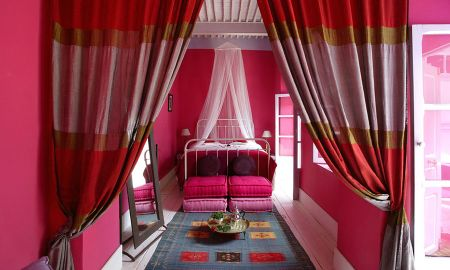 Quarto Duplo Superior com Varanda ou terrasse - Riad Casa Lila & Spa - Essaouira