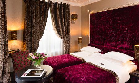 Superior Twin Room - Hotel Ares Eiffel - Paris