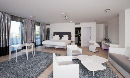 Prestige Room Sea View - Hotel Kube Saint-Tropez - Saint-tropez