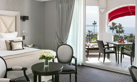 Junior Sea View Suite - Hotel Barriere Le Majestic Cannes - Cannes