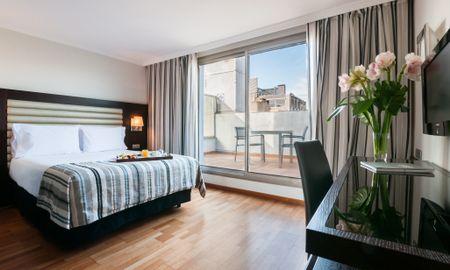 Двухместный номер с террасой - Exe Cristal Palace - Barcelona