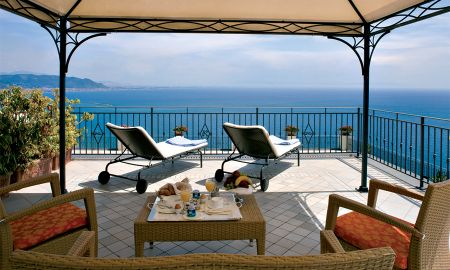 Junior Suite with Balcony and sea view - Free spa access - Raito Hotel - Amalfi Coast