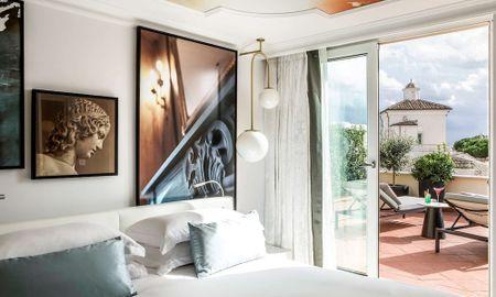 Suite Prestige Double Jean-Philippe Nuel - Sofitel Roma Villa Borghese - Roma