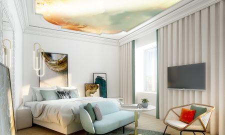 Quarto Luxury com Sofá - Sofitel Roma - Roma