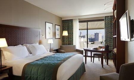 Luxus Doppelzimmer - Blick auf den alten Hafen - Terrasse - Hotel Sofitel Marseille Vieux Port - Marseille