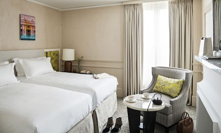 Quarto Premium Luxury Twin - Vista Patio & Rue Scribe - Sofitel Le Scribe Paris Opéra - Paris