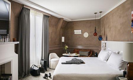 Camera Premium Luxe – King Bed - Sofitel Le Scribe Paris Opéra - Parigi