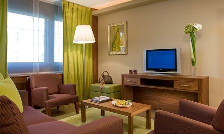 Suite Junior avec Vue sur la Rivière - Hotel Sofitel Lyon Bellecour - Lyon