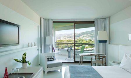 Camera Classic King - Terraza - Hotel Pullman Cannes Mandelieu Royal Casino - Cannes