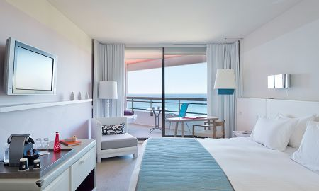 Deluxe Room with Terrace and panoramic sea view - Hotel Pullman Cannes Mandelieu Royal Casino - Cannes