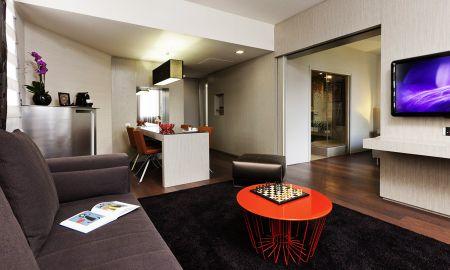 Deluxe Suite con letto matrimoniale - Hotel Pullman Toulouse Centre - Tolosa