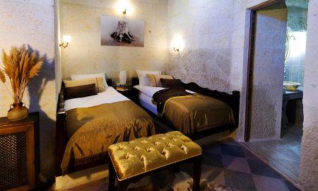 Camera Economica con Arco a volta e Letti Singoli - Perimasali Cave Hotel - Cappadocia