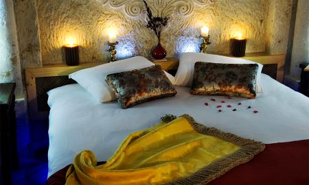 Quarto Duplo Standard - Perimasali Cave Hotel - Capadócia