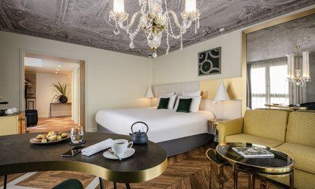 Suite Junior - Hôtel Le Louis Versailles Château - MGallery - Versalhes