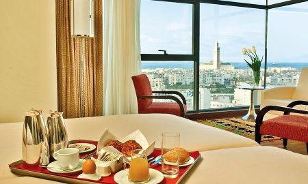 Quarto Deluxe Duplo Vista Mesquita - Hotel Barceló Casablanca - Casablanca
