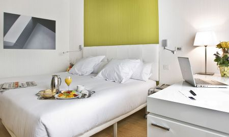 Chambre Double - Usage Single - Occidental Castellana Norte - Madrid