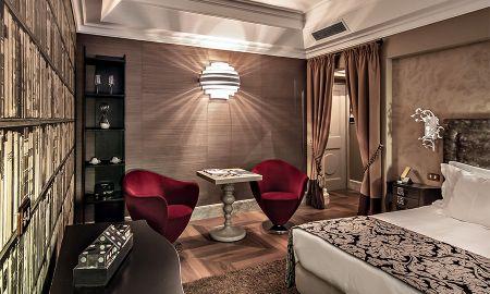 Quarto Executivo Duplo - Hotel Palazzo Manfredi - Roma