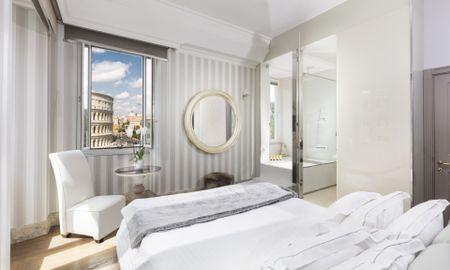 Quarto Master Vista do Colosseum - Hotel Palazzo Manfredi - Roma