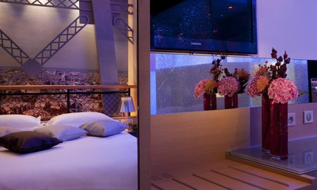 Chambre Tour Eiffel - Hotel Design Secret De Paris - Paris