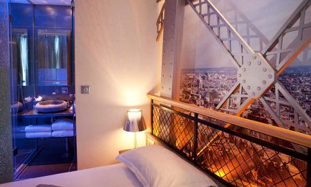Chambre Tour Eiffel - Hotel Design Secret De Paris - Paris